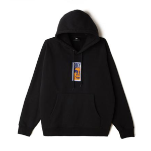 Obey - Slim Icon Hood - Black