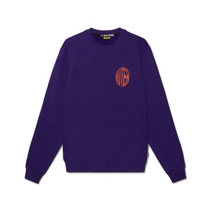IUTER - LCD Crewneck - Purple