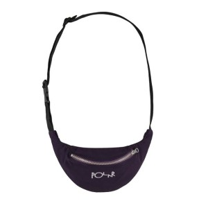 Polar - Script Logo Hip Bag - Prune