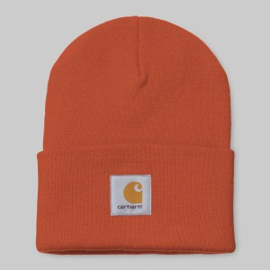 Carhartt - Acrylic Beanie - Brick Orange