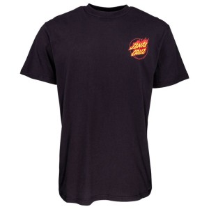Santa Cruz - Flame Hand Tee - Black