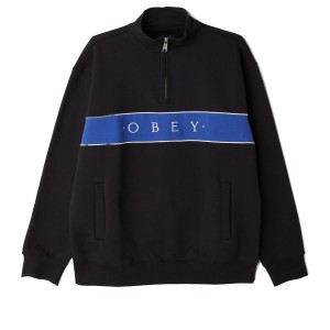 Obey - Deal Mock Neck - Black