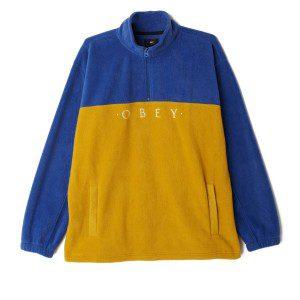 Obey - Channel Mock Neck - Brick