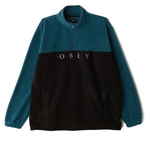 Obey - Channel Mock Neck - Black
