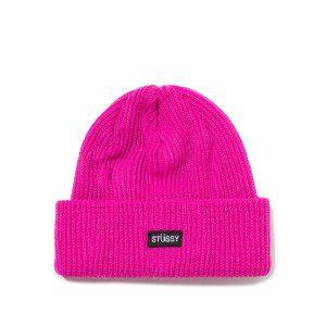 Stussy - Basic Cuff Beanie - Pink