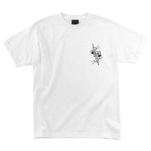 Independent - Pool Scum Tee - White