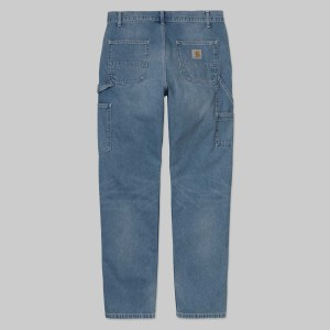 Carhartt - Ruckus Single Knee Pant - Blue Worn Bleached