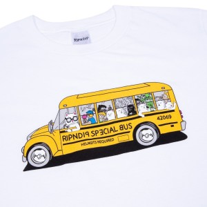 Ripndip - School Bus Tee - White