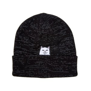 Ripndip - Lord Nermal Reflective Beanie - Black