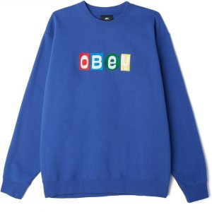 Obey - Big Shots Crewneck - Blue