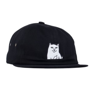 Ripndip - Lord Nermal 6 Panel Pocket Hat - Black
