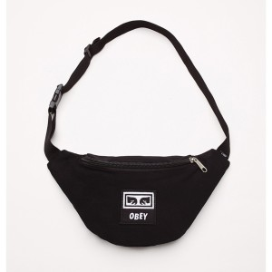 Obey - Wasted Hip Bag - Black