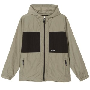 Stussy - Block Tech Jacket - Khaki