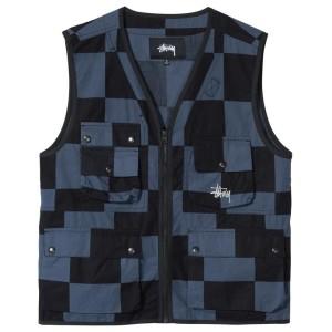 Stussy - Utility Vest - Check
