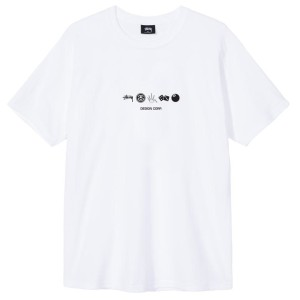 Stussy - Global Design Tee - White