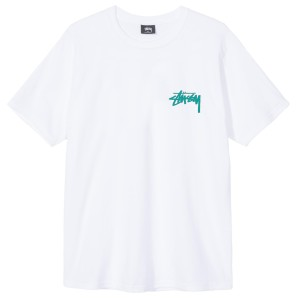 Stussy - Tribal Mask Tee - White