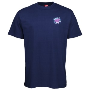 Santa Cruz - Crystal Hand Tee - Dark Navy