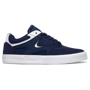 DC Shoes - Kalis Vulc S - Navy / White