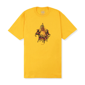 Pass~Port - State Horses Tee - Gold
