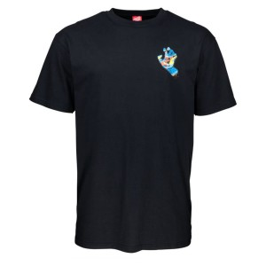 Santa Cruz - Primary Hand Tee - Black