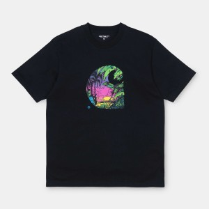 Carhartt - Sunset Tee - Black