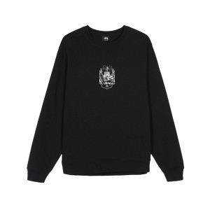 Stussy - True To This Crewneck - Black