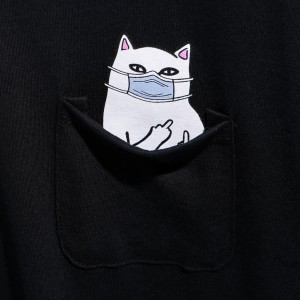 Ripndip - Lord Nermaphobe Pocket Tee - Black