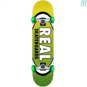 Real - Oval Gleam Heatwave Complete Skateboard - 8.25