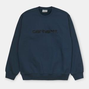 Carhartt WIP - Carhartt Sweatshirt - Admiral / Black