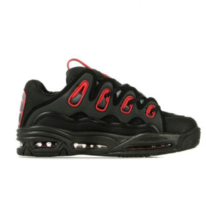 Osiris - D3 2001 - Black / Red / Fade