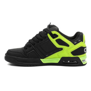 Osiris - Peril - Black / Dark Grey / Lime