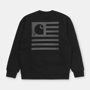 Carhartt WIP - State Sweatshirt - Black