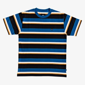 DC - Wesley Stripes Tee - Blue