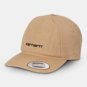 Carhartt - Canvas Coach Cap - Dusty Brown