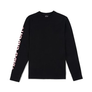Independent - Bar Cross L/S Tee - Black