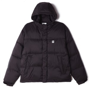 Obey - Fellowship Puffer Jacket - Black