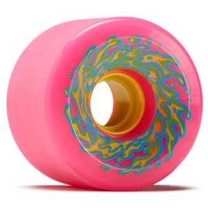 OJ - OG Slime Neon Pink Yellow 78a - 66mm