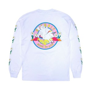 Ripndip - Unicorn Rider Long Sleeve Tee - White