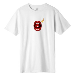 HUF - Hot Lips Tee - White