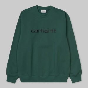 Carhartt - Carhartt Sweat - Dark Fir
