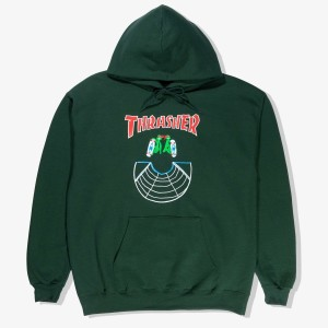 Thrasher - Doubles Hoodie - Black