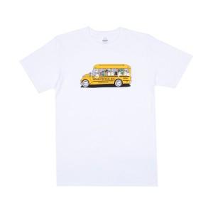 Ripndip - School Bus Tee - White