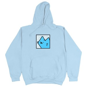 Leon Karssen - Box Cat Hoodie - Light Blue
