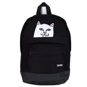 Ripndip - Lord Nermal Velcro Hands Backpack -Black