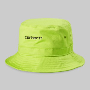 Carhartt - Script Bucket Hat - Lime