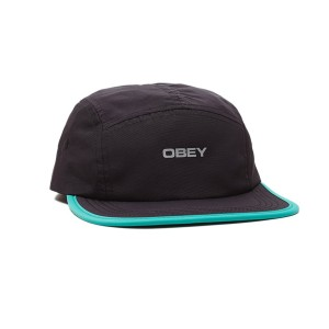 Obey - Upperground 5-Panel - Black