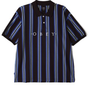 Obey - Ashby Polo - Black