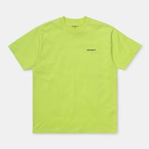 Carhartt - Script Embroidery Tee - Lime