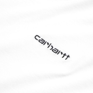 Carhartt - Script Embroidery Tee - White
