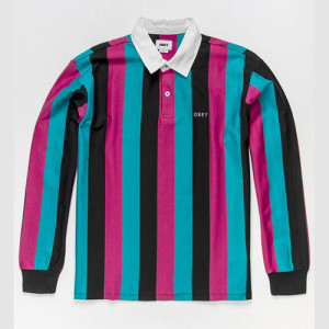 Obey - Side Line Polo - Black Multi